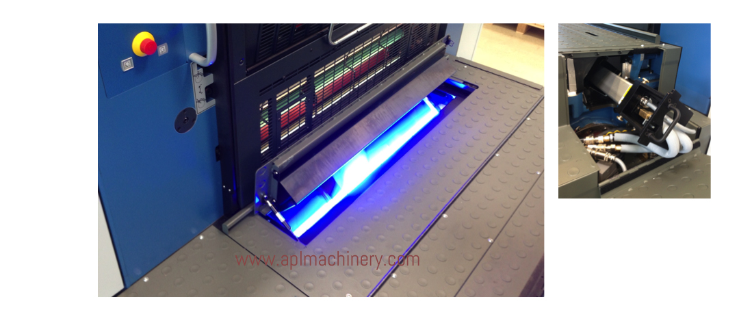 AMS LED UV Installation Example Sheetfed Offset Interdeck