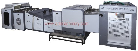 Fully Automatic UV Coating & Curing Machine